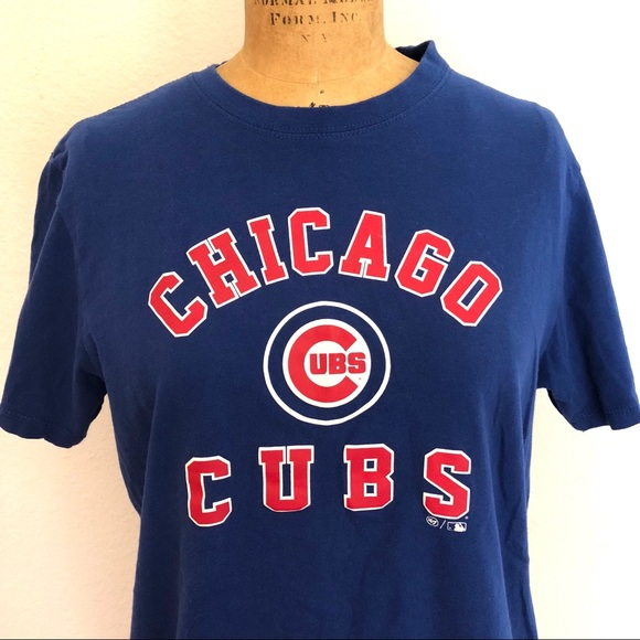 reputable site c7774 f32e8 Chicago Cubs women's T Shirt '47 Brand Size S
